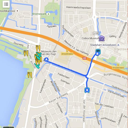 Station Amstelveen Google Maps