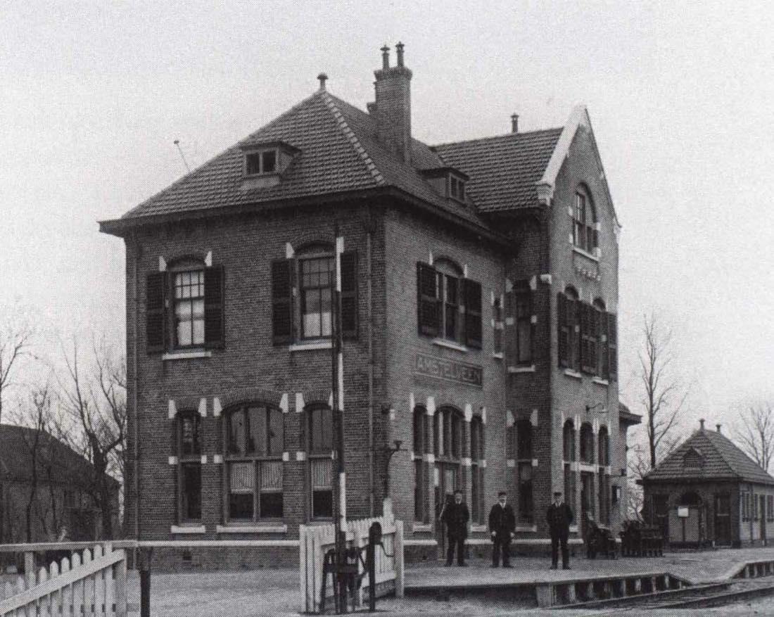 station amstelveen home vroeger
