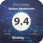 Station Amstelveen Booking award 2015
