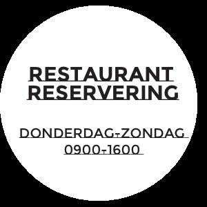 sticker restaurant reservering