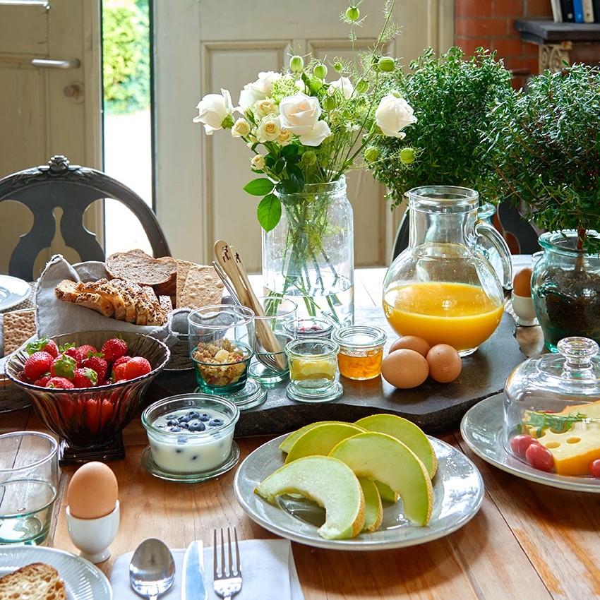 Ontbijt Bed en Breakfast Amstelveen