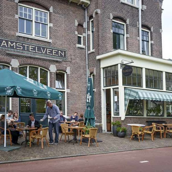 station amstelveen eat and drink terrace